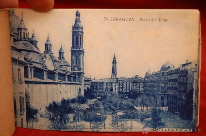 Postales: ALBUM DE POSTALES DE ZARAGOZA. 2ª SERIE. 20 TARJETAS - Foto 9 - 42397686