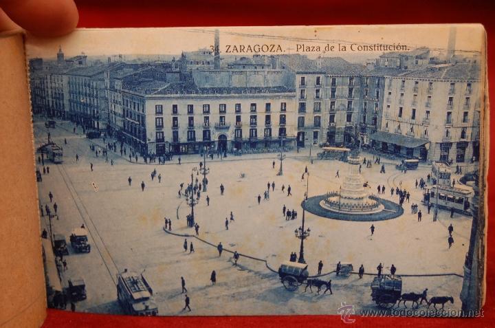 Postales: ALBUM DE POSTALES DE ZARAGOZA. 2ª SERIE. 20 TARJETAS - Foto 10 - 42397686