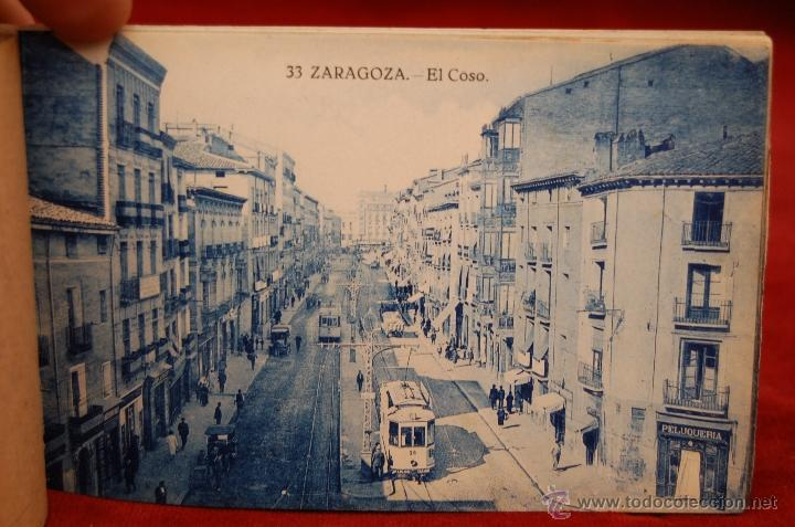 Postales: ALBUM DE POSTALES DE ZARAGOZA. 2ª SERIE. 20 TARJETAS - Foto 11 - 42397686