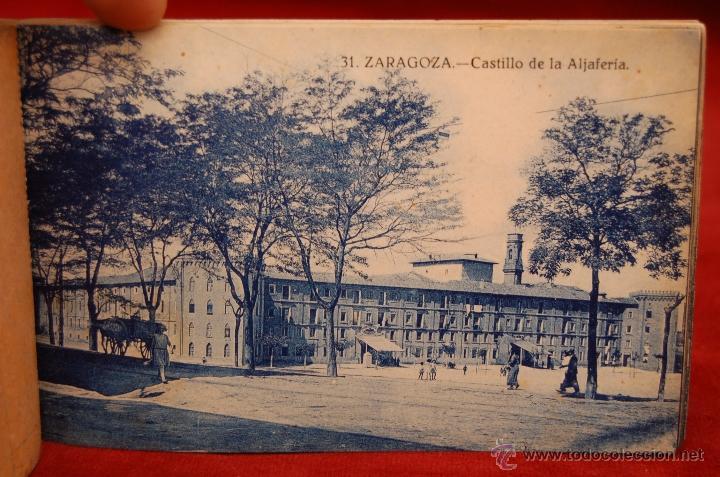 Postales: ALBUM DE POSTALES DE ZARAGOZA. 2ª SERIE. 20 TARJETAS - Foto 13 - 42397686