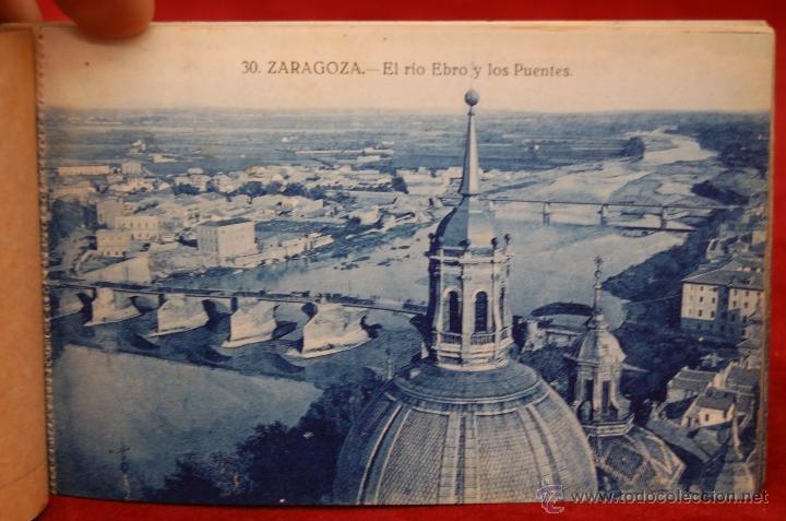 Postales: ALBUM DE POSTALES DE ZARAGOZA. 2ª SERIE. 20 TARJETAS - Foto 14 - 42397686