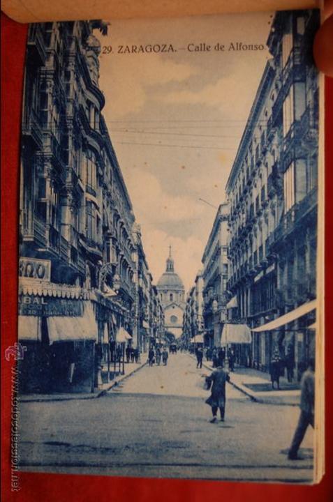 Postales: ALBUM DE POSTALES DE ZARAGOZA. 2ª SERIE. 20 TARJETAS - Foto 15 - 42397686
