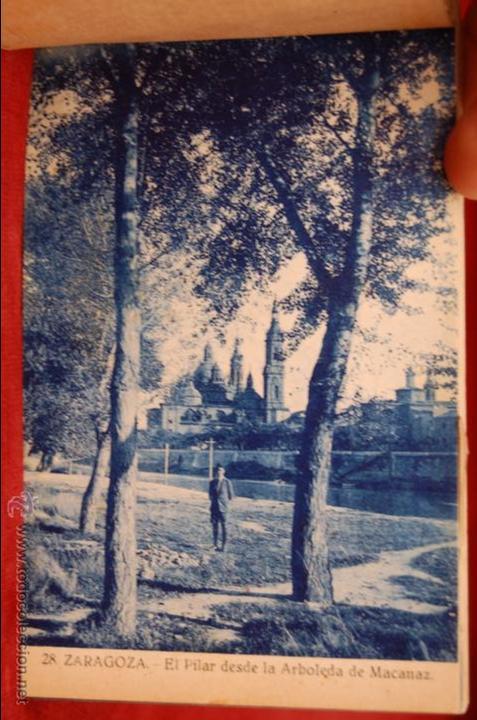 Postales: ALBUM DE POSTALES DE ZARAGOZA. 2ª SERIE. 20 TARJETAS - Foto 16 - 42397686
