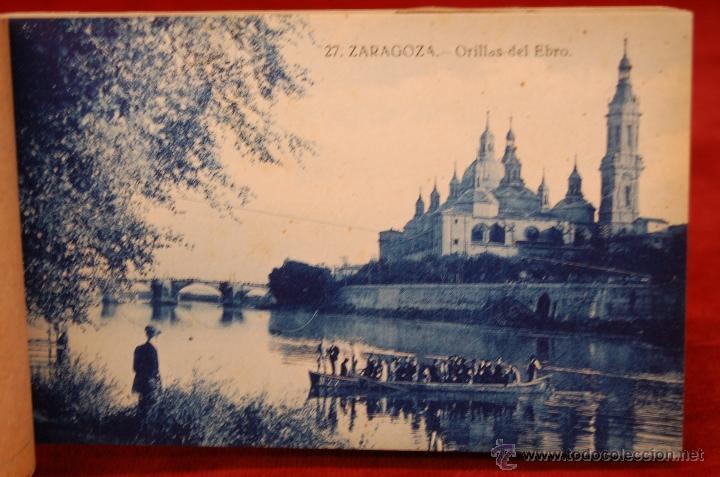 Postales: ALBUM DE POSTALES DE ZARAGOZA. 2ª SERIE. 20 TARJETAS - Foto 17 - 42397686