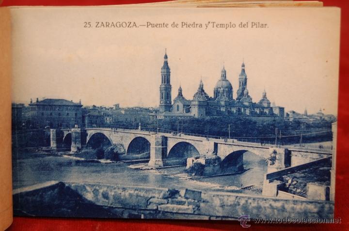 Postales: ALBUM DE POSTALES DE ZARAGOZA. 2ª SERIE. 20 TARJETAS - Foto 19 - 42397686