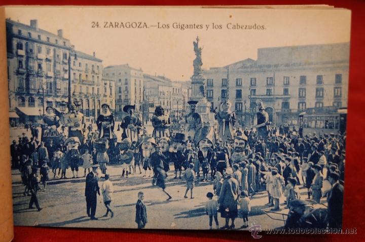 Postales: ALBUM DE POSTALES DE ZARAGOZA. 2ª SERIE. 20 TARJETAS - Foto 20 - 42397686
