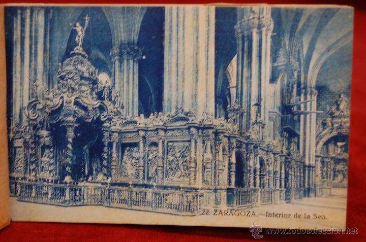 Postales: ALBUM DE POSTALES DE ZARAGOZA. 2ª SERIE. 20 TARJETAS - Foto 22 - 42397686