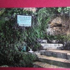 Postales: JARABA. ZARAGOZA. BALNEARIO DE SERON. FUENTE DE LA PEÑA.. Lote 42739014