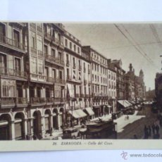 Postales: POSTAL ZARAGOZA, CALLE DEL COSO. Lote 42900498