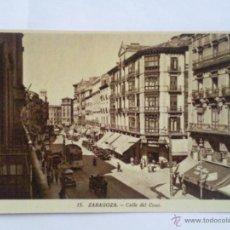 Postales: POSTAL ZARAGOZA, CALLE DEL COSO. Lote 42900595