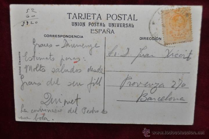 Postales: ANTIGUA POSTAL DE BENASQUE. HUESCA. FORAO DAIGUALLUT. CIRCULADA - Foto 2 - 42926607