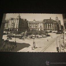 Postales: ZARAGOZA PLAZA DE ESPAÑA. Lote 42980278