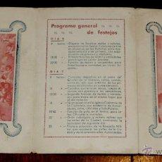 Postales: PROGRAMA DE FIESTAS DE JACA, HUESCA, ARMA DE INFANTERIA, DICIEMBRE DE 1945, TRIPTICO CON FOTO DE FRA. Lote 43018239