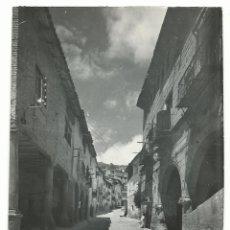 Postales: LA FRESNEDA .- CALLE DEL PILAR Y EMPEDRADA .- EDICIONES SICILIA Nº 5. Lote 175012049