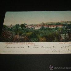 Postales: MONASTERIO DE PIEDRA ARAGON VISTA GENERAL EDITOR CECILIO GASCA PURGER Nº 35. Lote 43030754