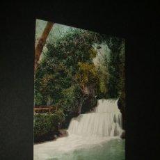 Postales: MONASTERIO DE PIEDRA ARAGON CASCADA EL CANO DE DIANA EDITOR CECILIO GASCA PURGER Nº 29. Lote 43030768