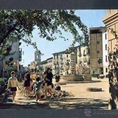 Cartes Postales: POSTAL DE FRAGA: PLAZA BARRON (FOTO PEÑARROYA NUM. 7). Lote 43087544