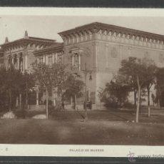 Postales: ZARAGOZA - PALACIO DE MUSEOS - (22249). Lote 43316617