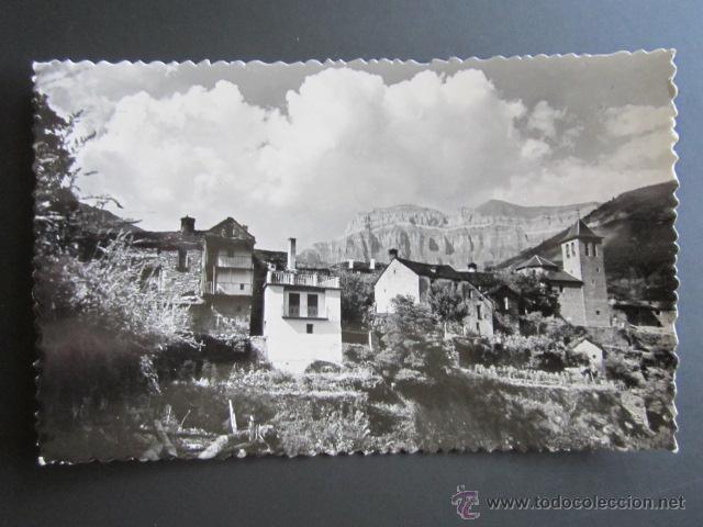 POSTAL HUESCA. TORLA. VISTA GENERAL. (Postales - España - Aragón Moderna (desde 1.940))