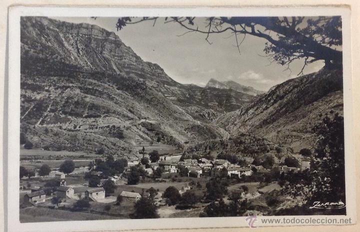 JÁNOVAS. ALTO PIRINEO DE ARAGÓN. VISTA GENERAL. (ZERKOWITZ) (Postales - España - Aragón Antigua (hasta 1939))