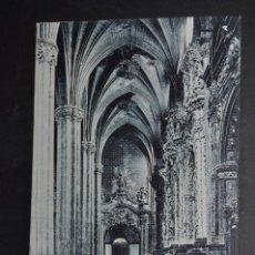 Postales: ANTIGUA POSTAL DE ZARAGOZA. LA SEO, UNA NAVE. ED. M. ARRIBAS. SIN CIRCULAR. Lote 43672537