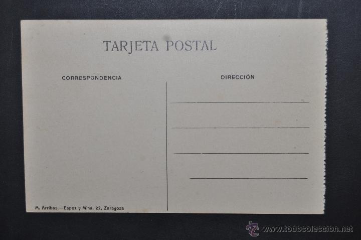 Postales: ANTIGUA POSTAL DE ZARAGOZA. PUENTE SOBRE EL RIO GALLEGO. ED. M. ARRIBAS. SIN CIRCULAR - Foto 2 - 43672594