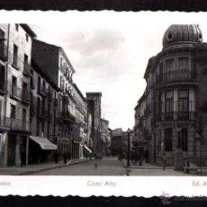 Postales: HUESCA. COSO ALTO. NO CIRCULADA. . Lote 43870675