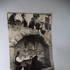 Postales: POSTAL DE BARBASTRO.-PUENTE DEL VIVERO. Lote 43880049