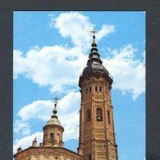 Postales: POSTAL DE CALATAYUD: COLEGIATA DE SANTA MARIA (G.GARRABELLA 5). Lote 222367785