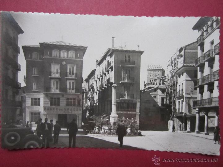 TERUEL. PLAZA DE CARLOS CASTEL. TORICO. (Postales - España - Aragón Moderna (desde 1.940))