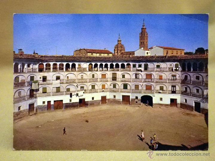 POSTAL, TARJETA POSTAL, TARAZONA, ZARAGOZA, PLAZA DE TOROS (Postales - España - Aragón Moderna (desde 1.940))
