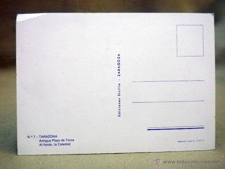 Postales: POSTAL, TARJETA POSTAL, TARAZONA, ZARAGOZA, PLAZA DE TOROS - Foto 2 - 44158648