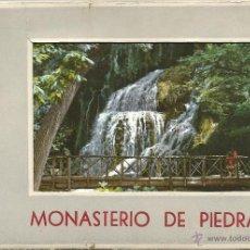Postales: POSTALES BLOC DE 10 TARJETAS DEL MONASTERIO DE PIEDRA ZARAGOZA POR GARCIA GARRABELLA . Lote 44192282