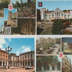 Postales: POSTAL-LOTE DE 5 TARJETAS DE HUESCA (VER FOTOS). Lote 44237666