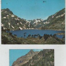 Postales: POSTAL-LOTE DE 2 TARJETAS DE SALLENT DE GALLEGO. Lote 44237688