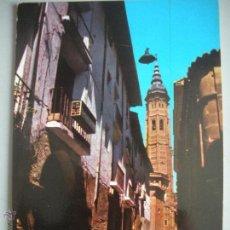 Postales: MAGNIFICA POSTAL DE CALATAYUD -CALLE GRACIA -. Lote 44805565