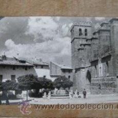 Postales: FOTOGRAFIA TARJETA POSTAL MUY ANTIGUA MORA DE RUBIELOS TERUEL JDP BARRACHINA. Lote 44916447