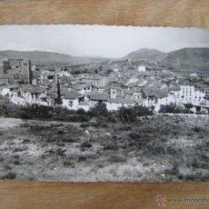 Postales: FOTOGRAFIA TARJETA POSTAL MUY ANTIGUA MORA DE RUBIELOS TERUEL JDP BARRACHINA. Lote 44916491