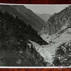 Postales: FOTOGRAFIA DE LA RUTA DE PANTICOSA (HUESCA), MIDE 17,3 X 11,5 CMS. FOTOGRAFIA DEL MARQUES DE SANTA M. Lote 45036829