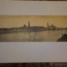 Postales: ZARAGOZA - LA RIVERA DEL EBRO. Lote 45232197