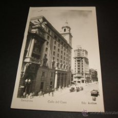 Postales: ZARAGOZA CALLE DEL COSO. Lote 45445019