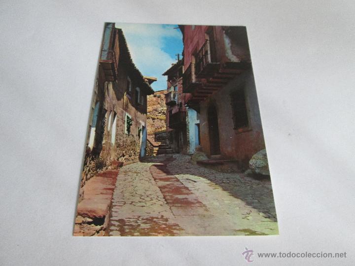 Aª POSTAL-ALBARRACÍN-TERUEL-CALLE DEL CHORRO-NUEVA-SIN CIRCULAR-VER FOTOS. (Postales - España - Aragón Moderna (desde 1.940))