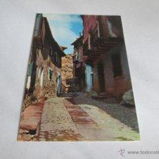 Postales: Aª POSTAL-ALBARRACÍN-TERUEL-CALLE DEL CHORRO-NUEVA-SIN CIRCULAR-VER FOTOS.. Lote 45456693