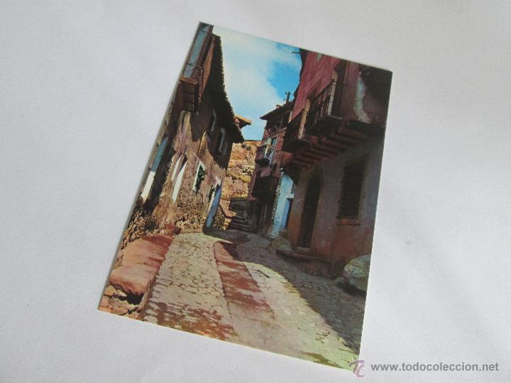 Postales: Aª POSTAL-ALBARRACÍN-TERUEL-CALLE DEL CHORRO-NUEVA-SIN CIRCULAR-VER FOTOS. - Foto 4 - 45456693