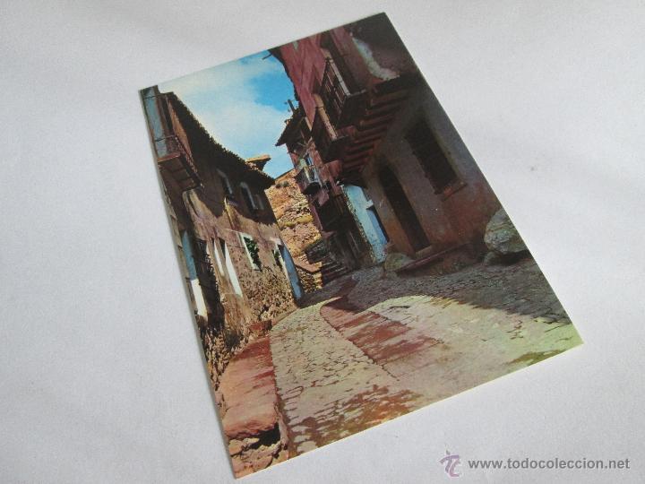 Postales: Aª POSTAL-ALBARRACÍN-TERUEL-CALLE DEL CHORRO-NUEVA-SIN CIRCULAR-VER FOTOS. - Foto 6 - 45456693