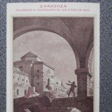 Postales: ARAGON GUERRA INDEPENDENCIA RUINAS DE ZARAGOZA POSTAL AÑO 1908. Lote 45642311