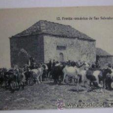 Postales: POSTAL ERMITA ROMANICA DE SAN SALVADOR. Lote 45694901