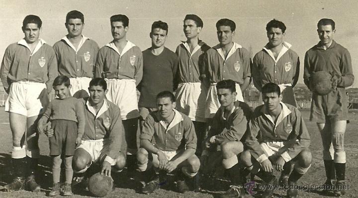 Postales: (PS-41861)FOTO DE BINEFAR-EQUIPO DE FUTBOL 1952 (12,5 X 7,5 CM.) - Foto 2 - 45708829