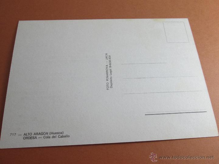 Postales: Aª POSTAL-ORDESA-ALTO OREGÓN-HUESCA-ARAGÓN-1964-SIN CIRCULAR-VER FOTOS. - Foto 2 - 45772295