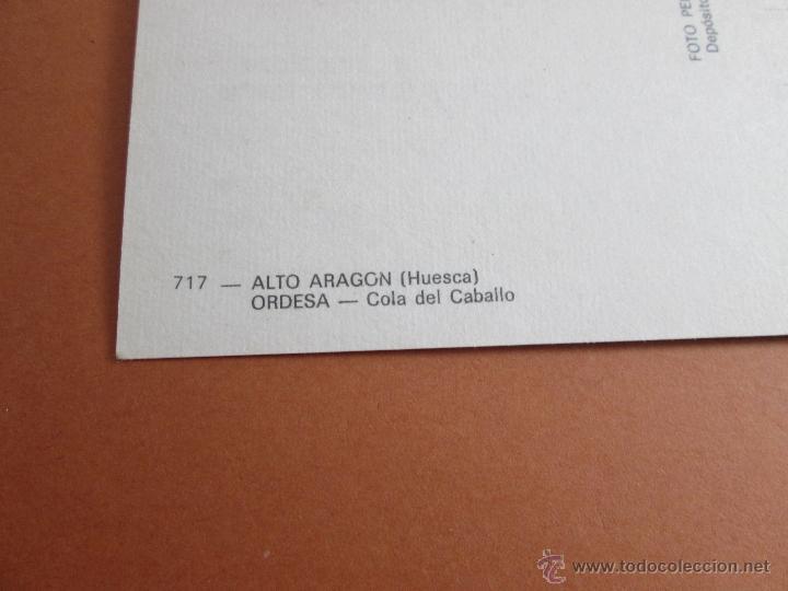 Postales: Aª POSTAL-ORDESA-ALTO OREGÓN-HUESCA-ARAGÓN-1964-SIN CIRCULAR-VER FOTOS. - Foto 5 - 45772295
